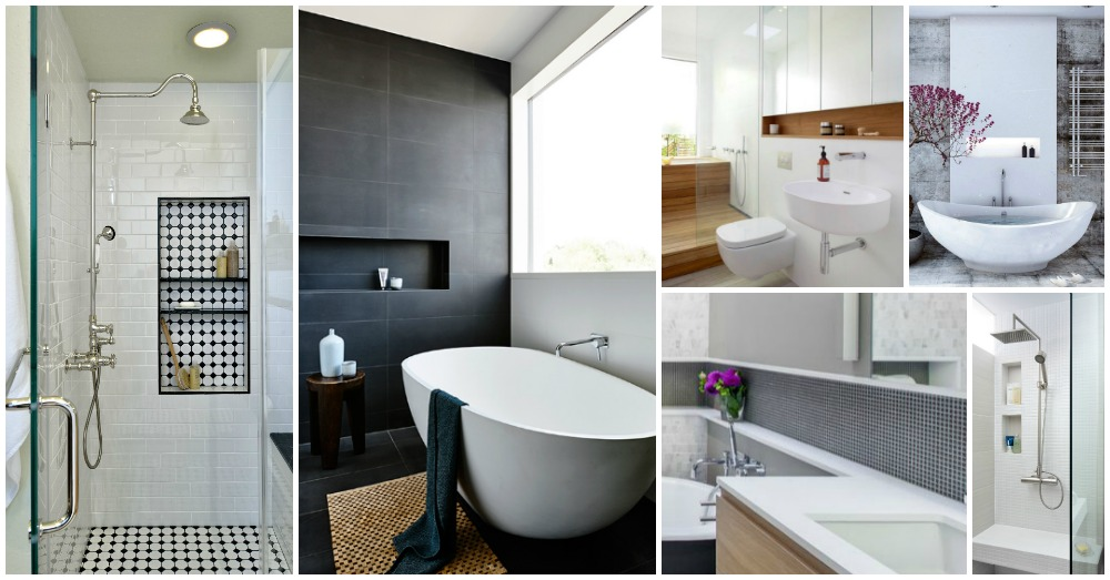 18 Fantastic Shower Niches For Your Bath Products