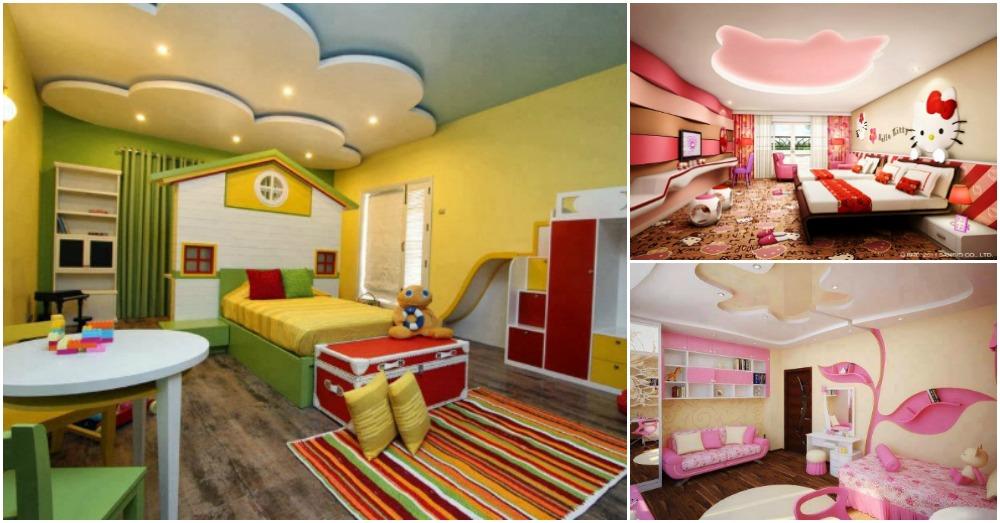 Outstanding Gypsum Board Designs For Your Kids Bedroom