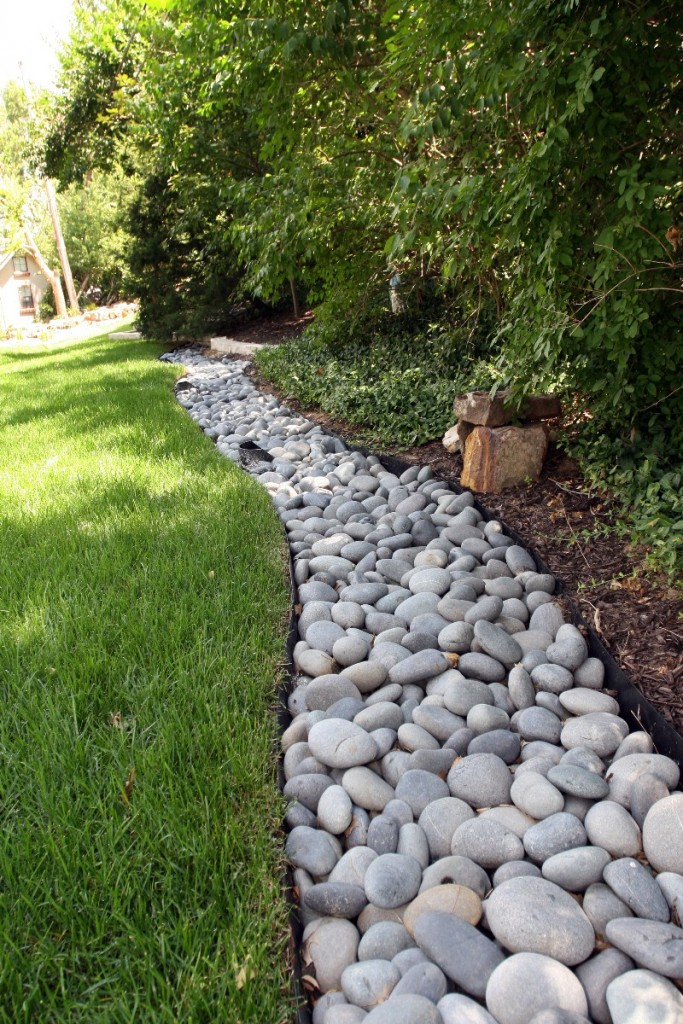 Small River Rock Landscaping