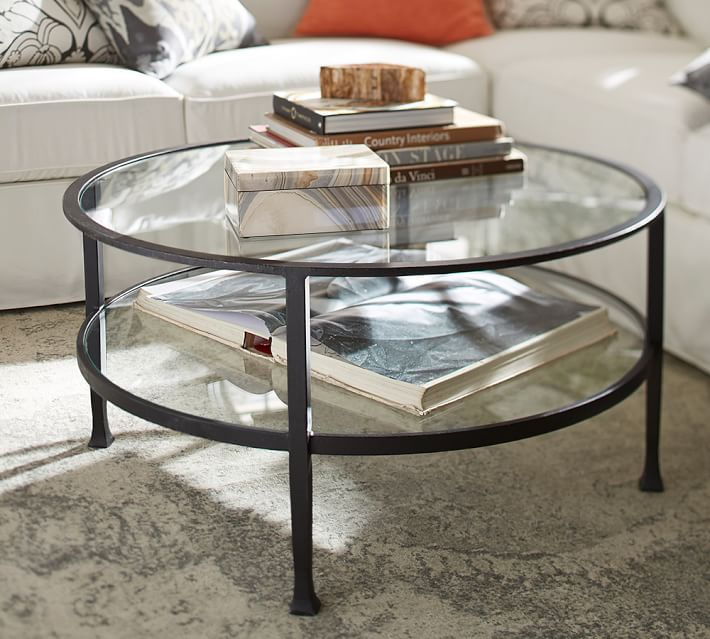 round coffee tables to give your living