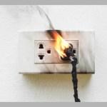 Choques elétricos podem ser evitados: Dispositivo DR