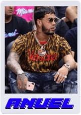 Anuel AA Polaroid Top Entretenimiento