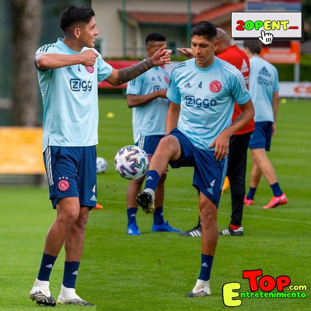 Edson Alvarez Instagram 08.15.20 Ajax FC