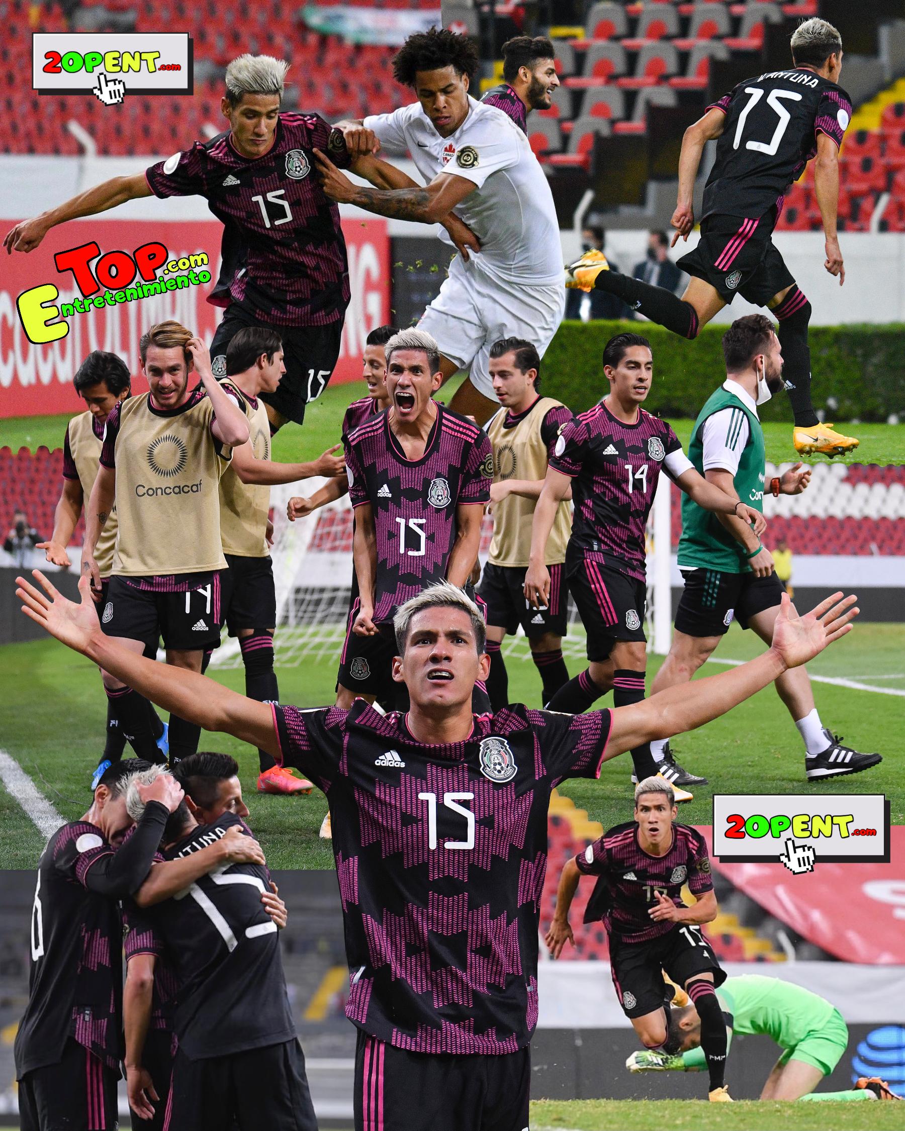 Uriel Antuna Mexico Canada Sub 23 Semifinales Preolimpico CONCACAF Seleccion Mexicana 2021