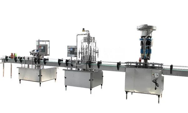 2-in-1 Automatic Bottle Filling And Capping Machine For Liquid