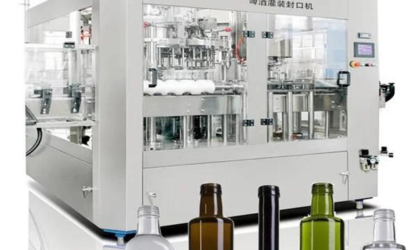 Beer Can Liquid Filling Machine