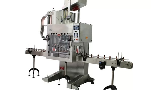 Full Automatic Glass Bottle Capping Machine För Shampoo