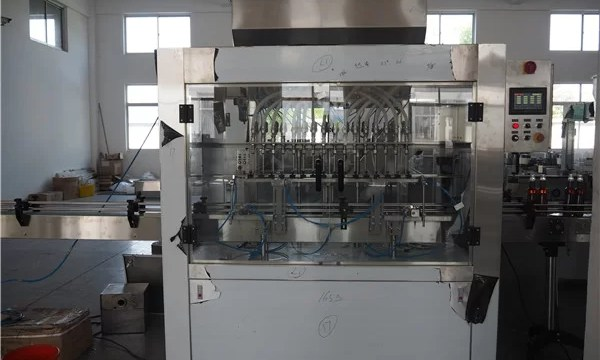 Professional Manufacturer Automatic Oil Filling Machine
