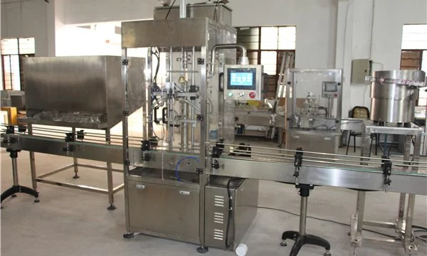 High Volume Automatic Bottle Shampoo Filling Machine