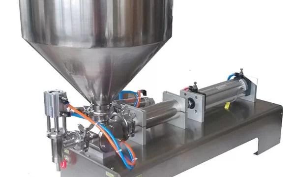 Macchina di riempimento pneumatico di pasta manuale della fabbrica