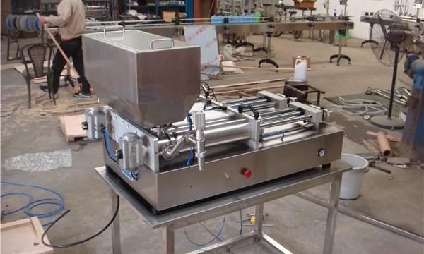 Cheapest Pneumatic Semi-Automatic Jam Filling Machine