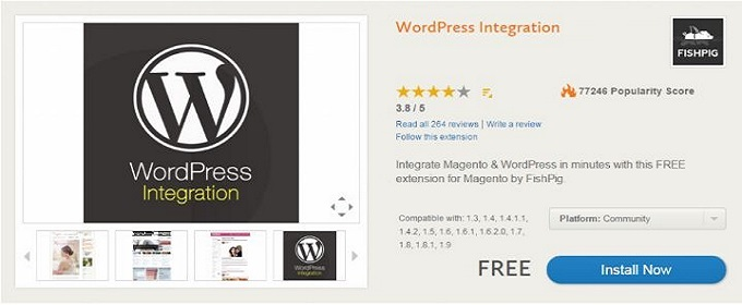 Fisdig WordPress Integration