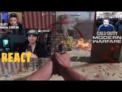 Summit1g React To CALL OF DUTY
