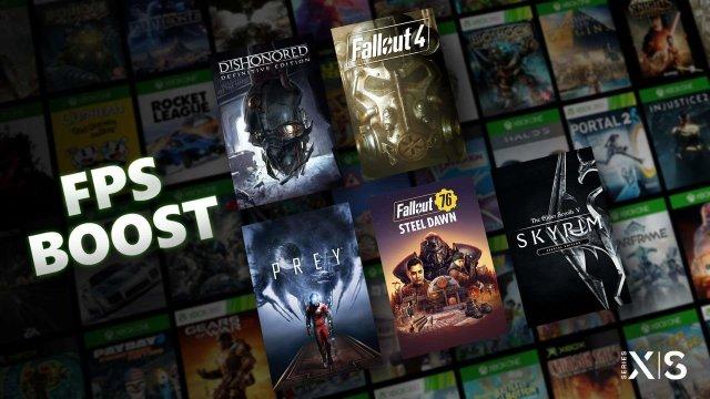 Mejora de FPS de Xbox