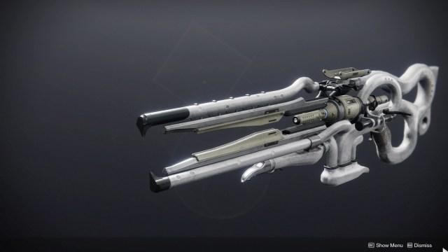 El adorno Eververso para el rifle de pista del cetro de antaño
