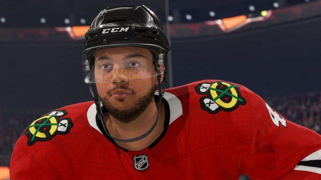 Seth Jones de los Chicago Blackhawks en NHL 22