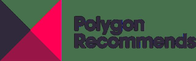 Polygon recomienda el logotipo con el texto