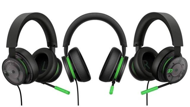 Auriculares Xbox del 20 aniversario