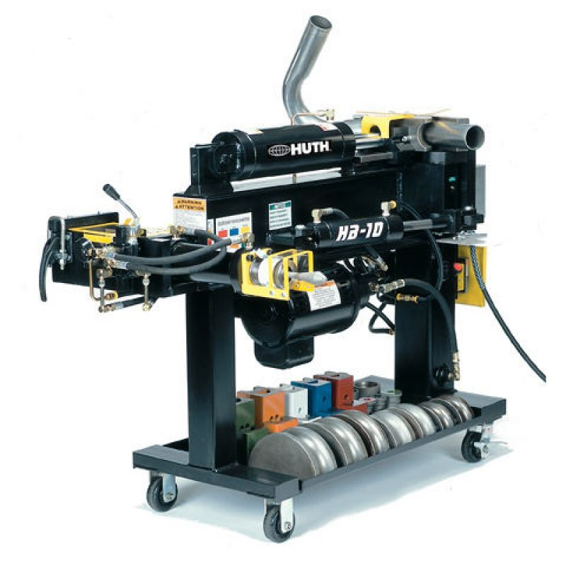 huth hb 10 exhaust pipe tube bending machine car tooling