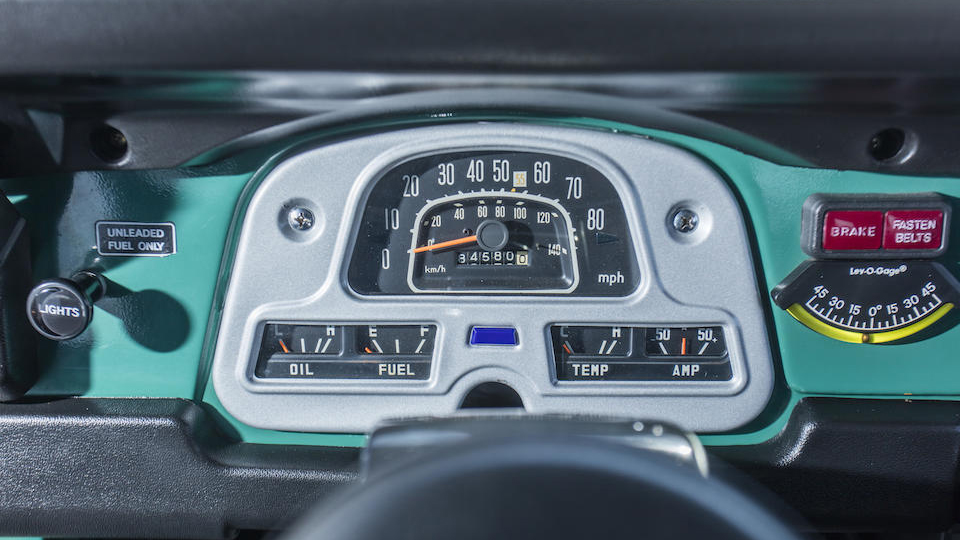 Toyota FJ40 Land Cruiser Hardtop Tom Hanks Top Gear