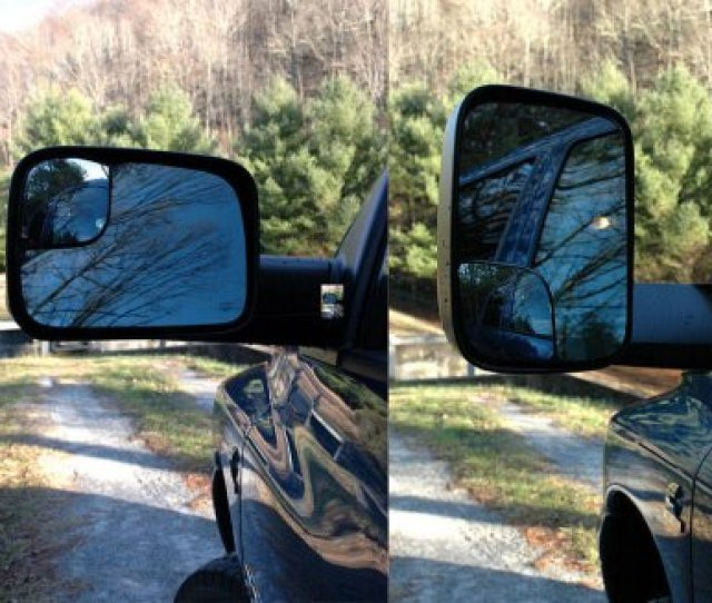 Dodge Ram  Towing Mirrors Power Heated