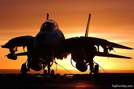 F-14 Tomcat on Deck