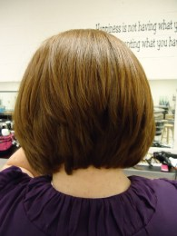 Short Bob Hairstyle From The Back View Graduated Bob Hairstyles Back And Front Views Unique – Wodip