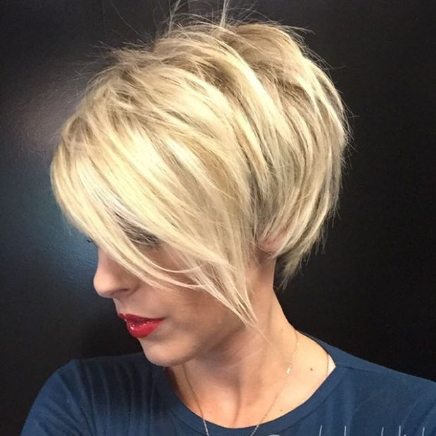 Best Short Haircuts 2018 Blonde