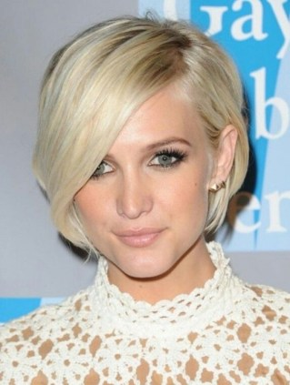 Celebrity Short Haircuts 2018 With Bangs