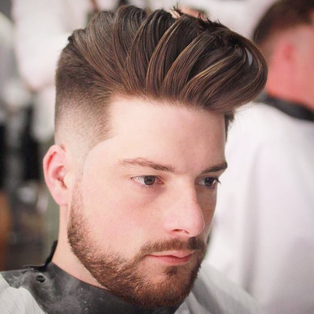 Crop High Fade Short Haircut Men 2018