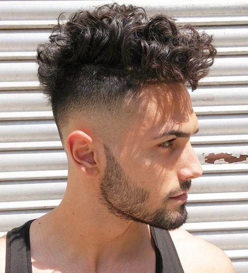 Curly Hairstyles For Men 2018 2