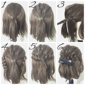 25 Easy Hairstyles for Girls - Haircuts + Hairstyles 2018