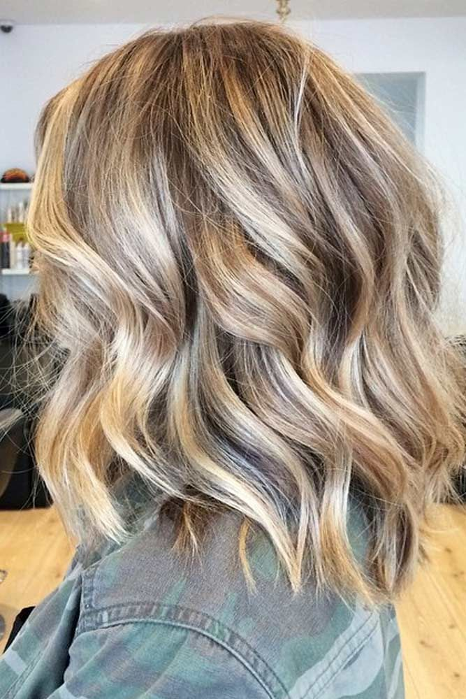 Shoulder Length Layered Hairstyles Best Medium Length Hairstyles You'll Fall In Love With  Medium