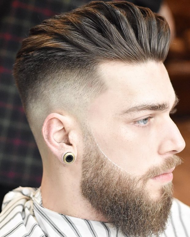 Sharp Fade Men Short Haircut 2018