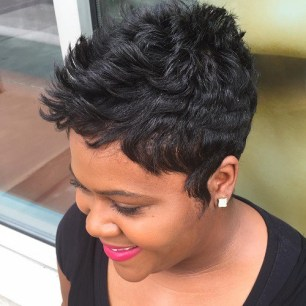 Short Black Hairstyles 2018 - Haircuts + Hairstyles 2018