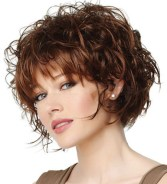 Short Bob Curly Hairstyles 1