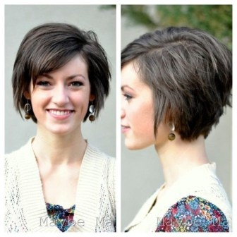 Short Hairstyles For Oval Faces 2018 5