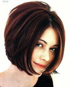 Short Hairstyles For Round Faces 2018 31