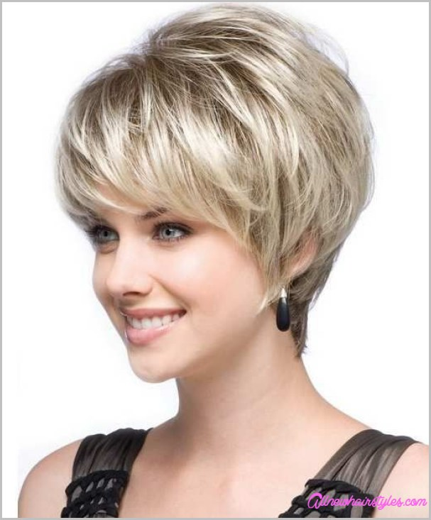 Best And Cute Haircut For Round Faces And Thin Hair Of Short Haircuts Hairstyles 2018