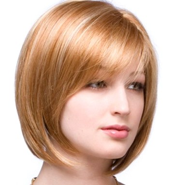 Short Hairstyles For Round Faces 2018 39