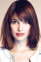 Short Hairstyles For Round Faces 27