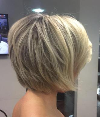 Short Layered Bob Hairstyles 25