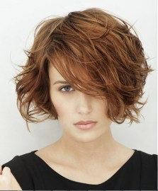 Short Messy Hairstyles 2018 21