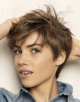 Short Messy Hairstyles 2018 3