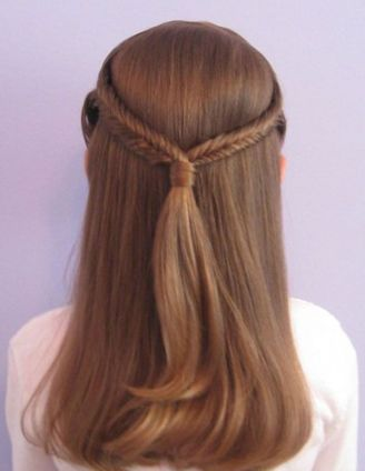 Simple Hairstyles For Girls 18