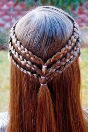Simple Hairstyles For Girls 25