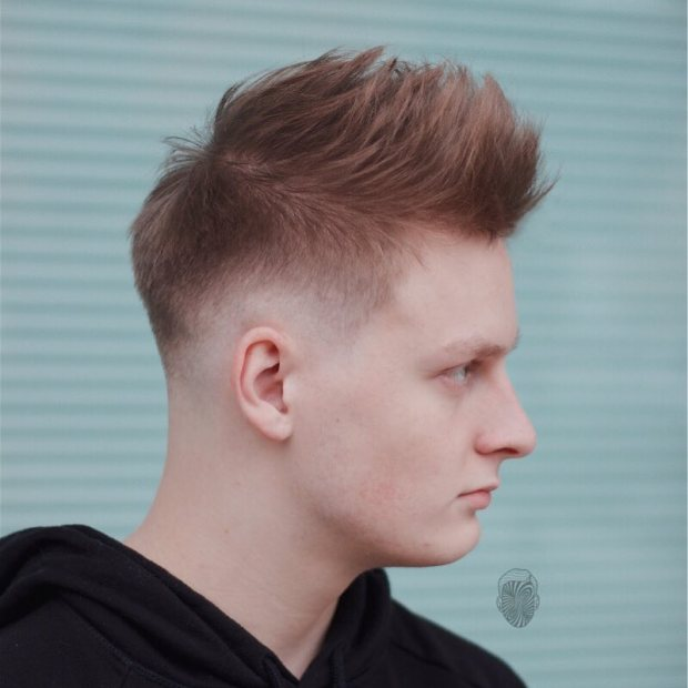 Spiky Hairstyle For Men 2018
