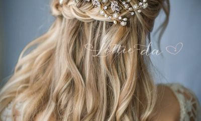Half Up Half Down Wedding Hairstyles 18