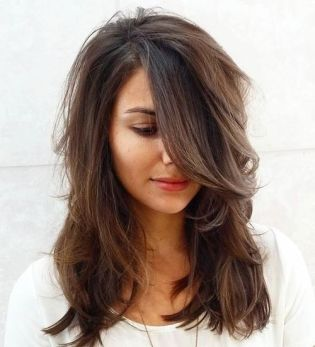 Medium Layered Haircuts 1