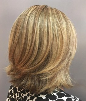 Medium Layered Haircuts 13